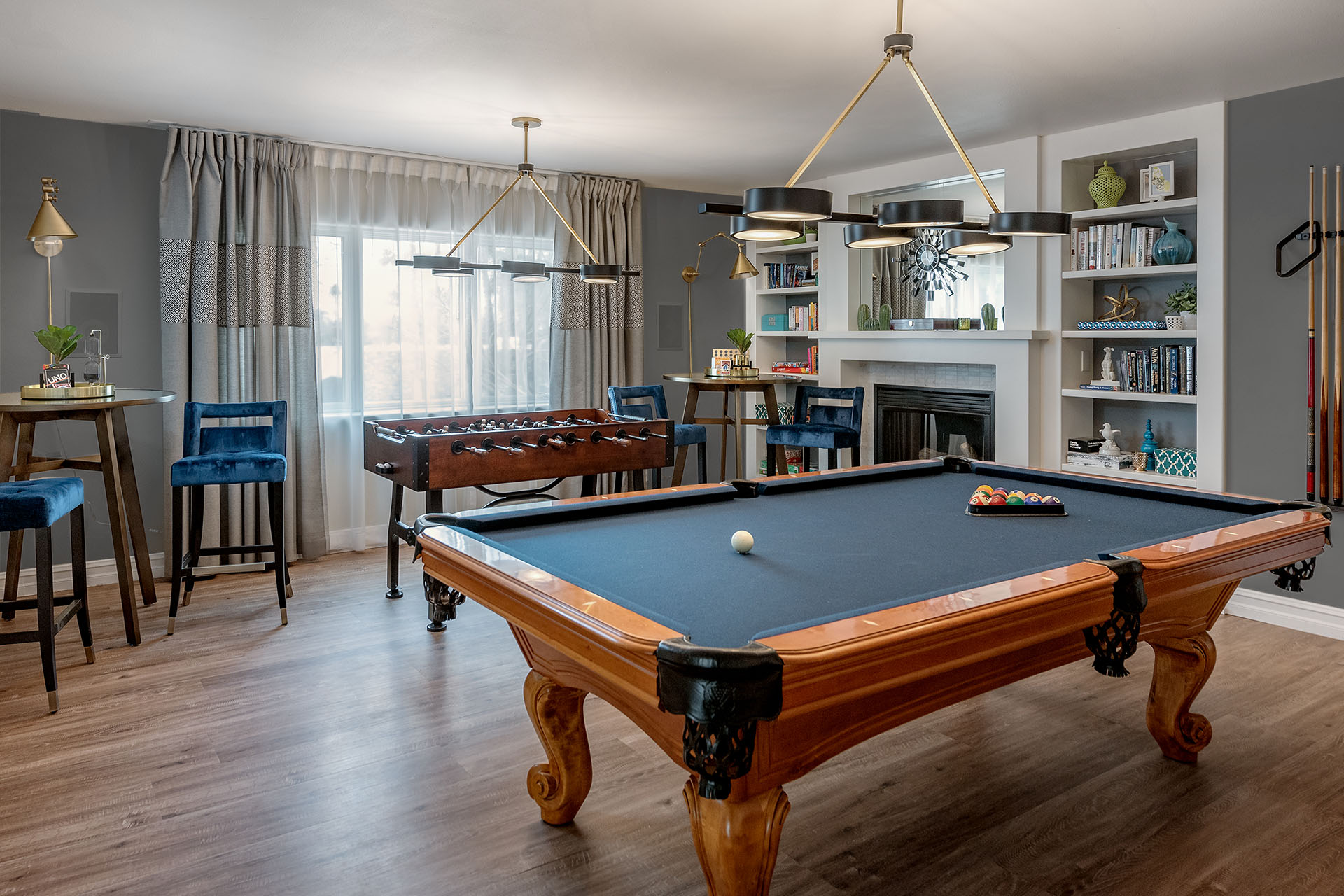 Palm-Springs-Vacation-Rental-Game-Room-Pool-Table