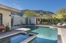 Sunny Backyard with Heated Pool