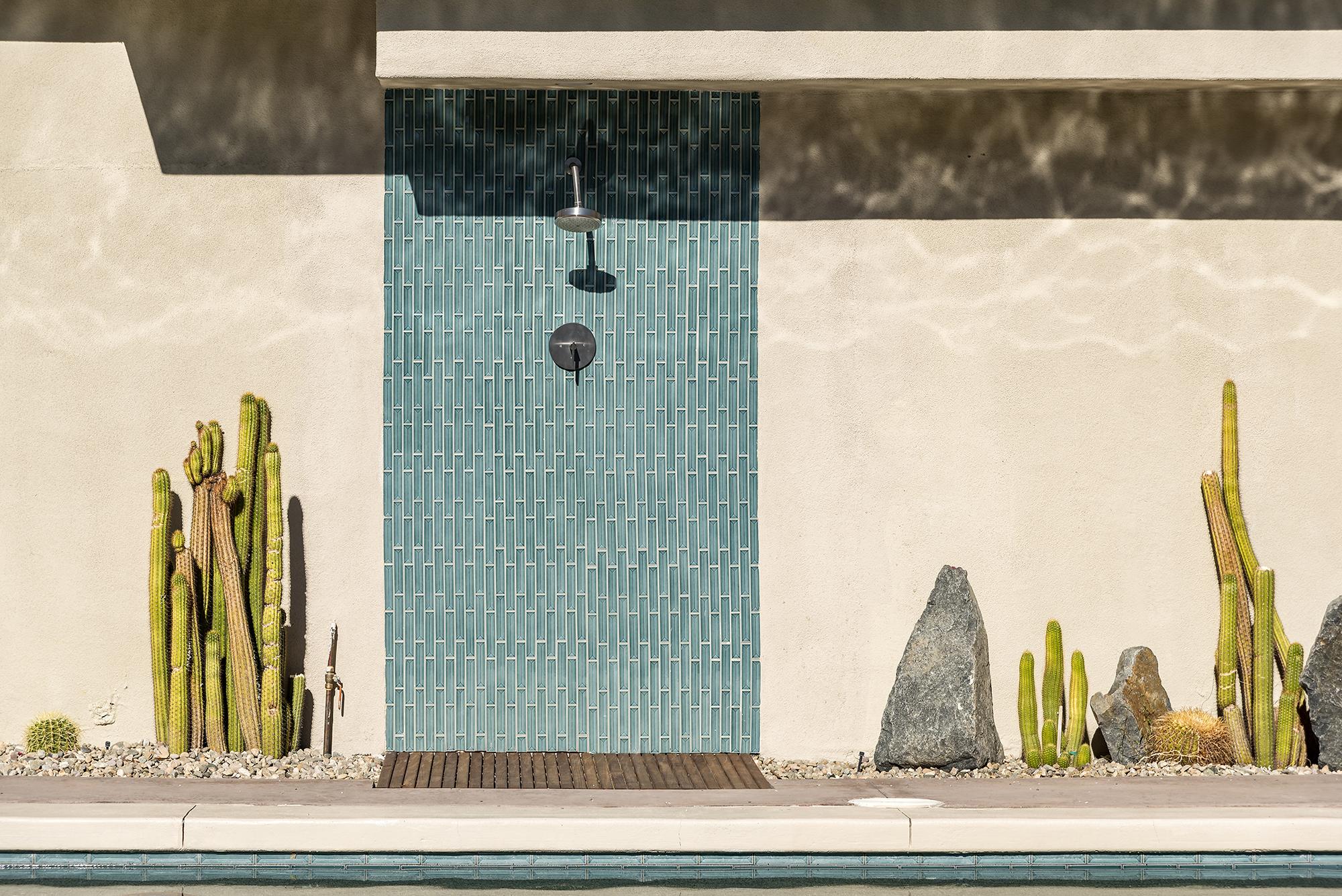 Poolside Outdoor Shower