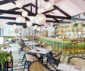 Pink Cabana Restaurant Palm Springs